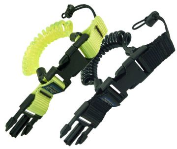 Cetacea - Scuba Divers Coil Lanyard with Quick Release for Camera, Torch, Reel etc